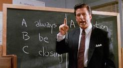Alec Baldwin sets out his ABC sales lesson in the film 'Glengarry Glen Ross' – but taking valuable free advice is best route to success