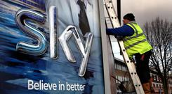 Sky is Ireland's fourth largest broadband provider. Stock picture