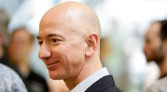 Jeff Bezos shook up the entire retail experience as he expanded Amazon. Photo: AFP/Getty Images