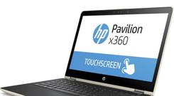 The Pavilion x360 has a flexible hinge that turns it into a standalone-screen