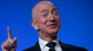 Jeff Bezos of Amazon has a hands-on approach at the Washington Post. Photo: Bloomberg