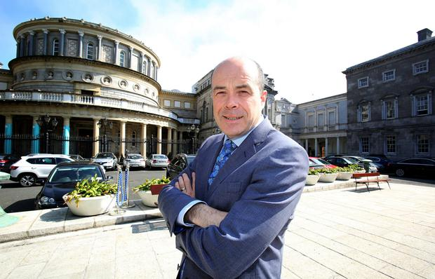Denis Naughten has resigned as Communications Minister. Photo: Tom Burke