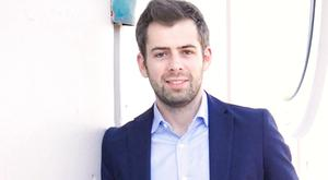 Making his mark: Oisin Hanrahan is now one of Ireland's most successful young enterpreneurs after selling Handy.com to American rival Angi Homeservices Photo: Adrian Weckler