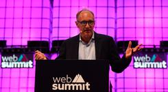 Contract call: Tim Berners-Lee speaking at the Web Summit in Lisbon