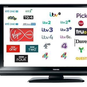 A Saorview and Freesat combi box will give dozens of channels from both sides of the Irish Sea