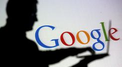 Google has announced record revenues of €32.2bn for 2017 in its Irish accounts, a rise of €5.9bn due to the scale at which it is cornering the advertising market. Stock photo: Reuters