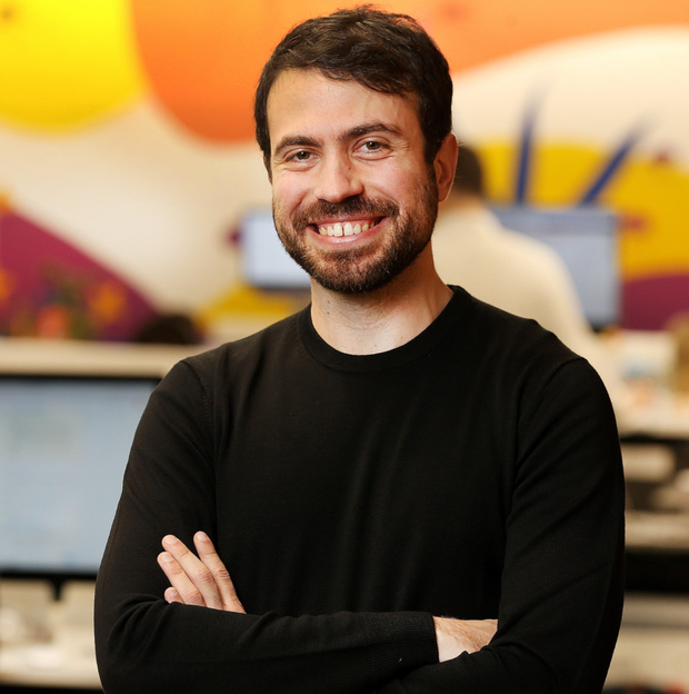 Justin Rosenstein, co-founder of Asana, at the company's Dublin offices