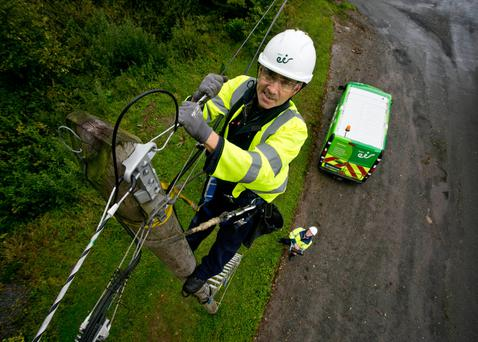 The last 100,000 of 330,000 of the rural-fibre-to-the-home connections being built by Eir will be completed in June
