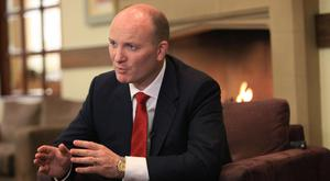 Bad deal: Declan Ganley believes spectrum allocation policies have been 'wrong-headed' and that the auction system is bad for the mobile industry and its customers. Photo: AFP/Getty