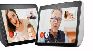 Video call: the Alexa Echo Show can dial up family or friends simply by voice command