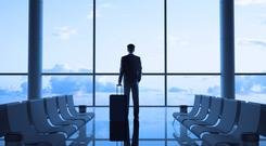 On the go: You must commit to the reality of business travel. We are an island nation and we will always need to hop on planes. Stock image