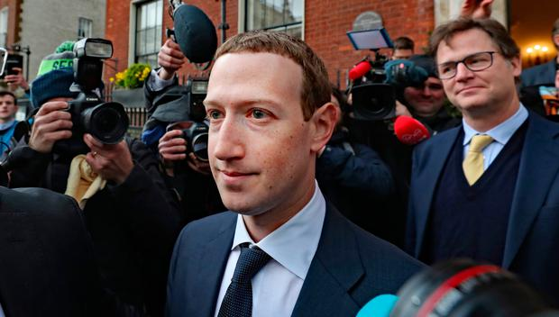 Mark Zuckerberg in Dublin