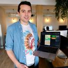 Broadband boost: Matt Loughnane, developer, Cape Koala Studios. Photo: Adrian Weckler