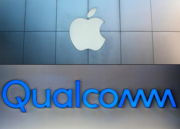 Qualcomm had been accused by Apple of overcharging for patents on its tech. Photo: AFP/Getty Images