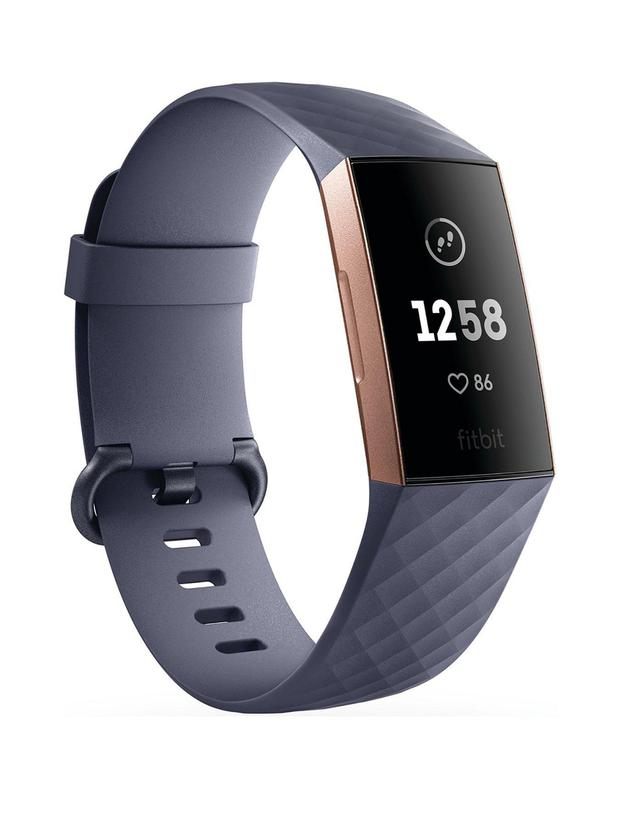 On track: the Fitbit Charge 3 counts your steps and can also measure your sleep and your heartbeat