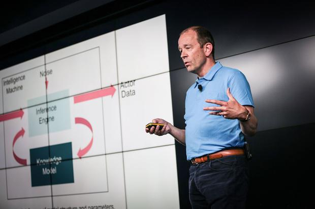 Graphcore chief technology officer Simon Knowles is leading a tech revolution