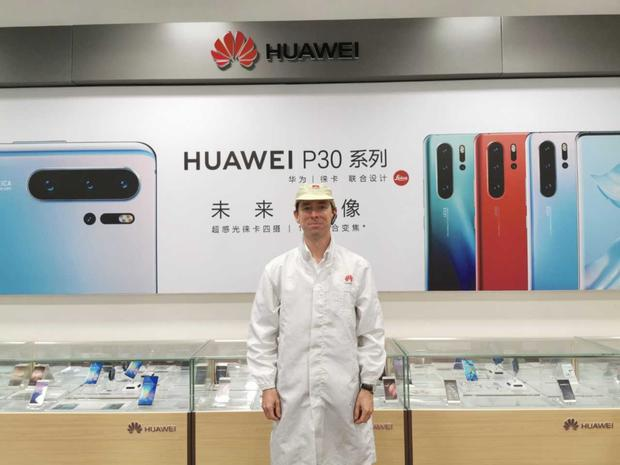 Pro pilot: Adrian Weckler at Huawei's HQ in Shenzhen, China. The tech giant is now the second biggest smartphone maker in the world, ahead of iPhone and just behind Samsung