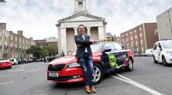 Driving forward: Alan Fox, general manager of Free Now. The taxi app has been rebranded from Mytaxi