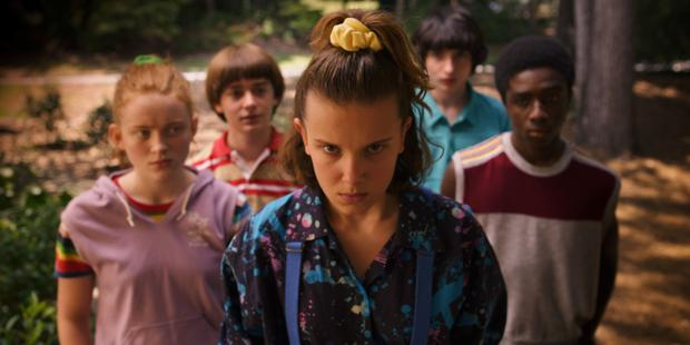 Netflix's Stranger Things. Streaming services are putting pressure on families' data bundles.