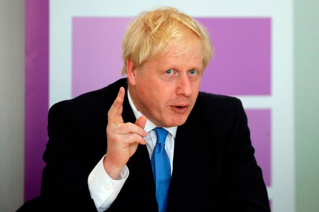 UK prime minister Boris Johnson has stoked business fears of a no-deal Brexit. Photo: Getty Images