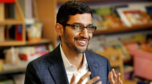 World leader: Google CEO Sundar Pichai. Photo: Steve Humphreys