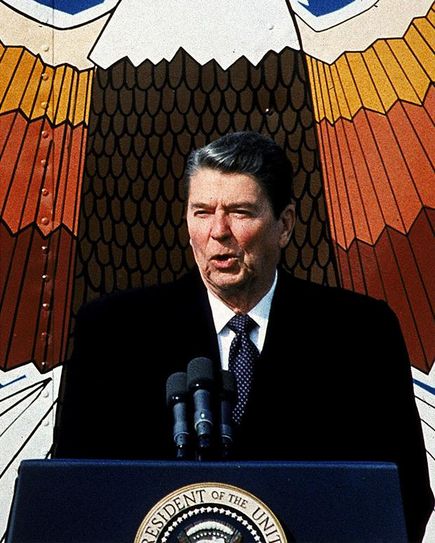 More money was allocated to research under Ronald Reagan than Barack Obama. Photo: AP