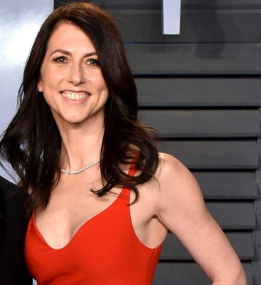 Charity: MacKenzie Scott received a $35bn stake in Amazon after her divorce