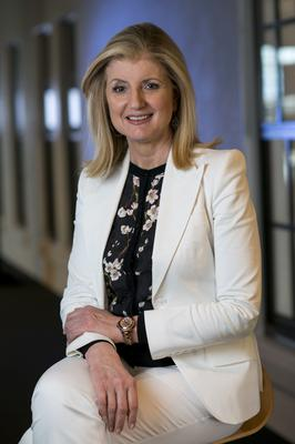 Arianna Huffington, the editor-in-chief of the Huffington Post