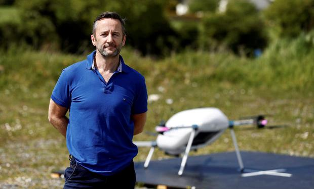 Manna Aero founder Bobby Healy has raised €21m in a Series A round