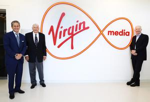 In charge:  John Malone's Liberty Capital, which owns Virgin Media, is to test using its existing cable ducts for EV chargers