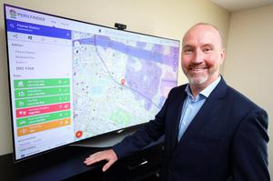 Game-changer: Feargal O'Neill's firm Gamma Location Intelligence will soon launch an app to pinpoint energy inefficiency in the home