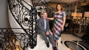 Online: Noel Moran and wife Valerie sold their Prepaid Financial Services firm. Photo:Barry Cronin