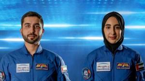 Noura al-Matroushi was named as the UAE's first female astronaut, along with her male counterpart Mohammed al-Mulla.
