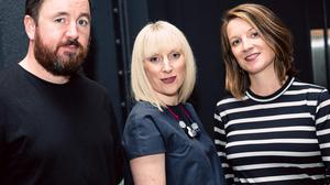 Boundless founders (left to right)Eamon Leonard, Dee Coakleyand Emily Castles