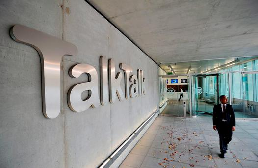 The TalkTalk Headquarters in west London