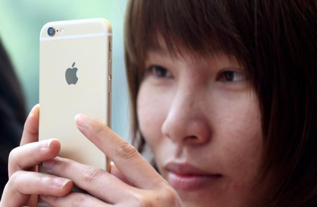 Sales of Apple's iPhones have slowed and not even growth in China can make up the shortfall