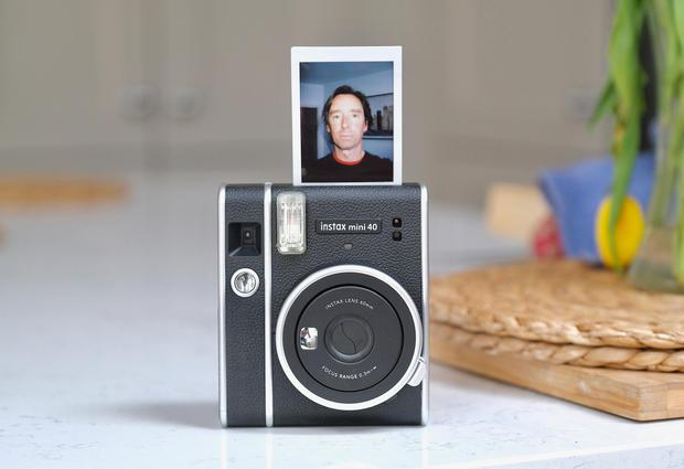 You can shoot and print instant selfies with Fujifilm's latest camera
