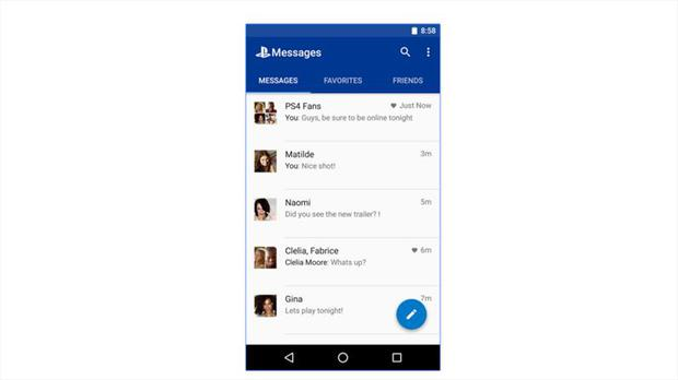 PlayStation Messages app released on iOS and Android