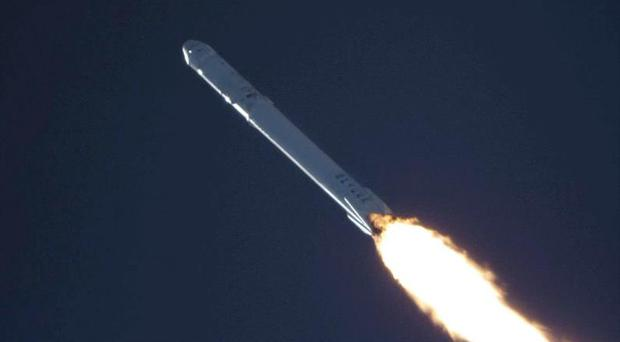 SpaceX intends to debut its Mars rocket, a heavy-lift version of the Falcon 9 booster currently flying, later this year