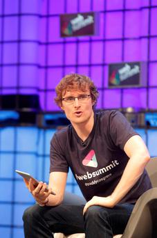 Paddy Cosgrave pictured at the 2014 Web Summit