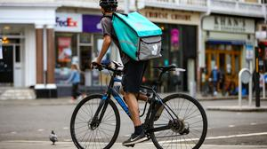 Deliveroo has commenced its IPO. Photo: Hollie Adams/Bloomberg