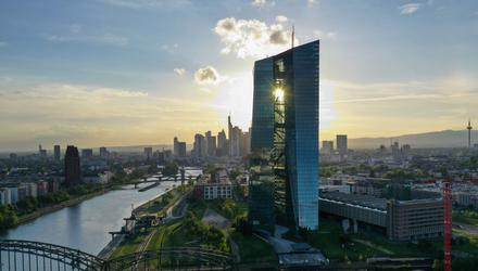 The European Central Bank. Photo: Alex Kraus/Bloomberg