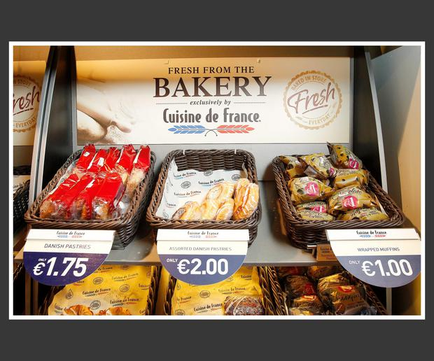 Aryzta is best known here as the baker of Cuisine de France-branded goods. Photo: Frank McGrath
