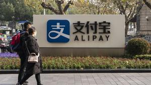 Alibaba's Alipay app has more than 730 million monthly users in China. Photo: Qilai Shen/Bloomberg