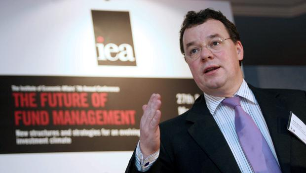 Keith Skeoch, chief executive officer of Standard Life Investments speaks at the Institute of Economic Affairs'  'Future of Fund Management' conference in central London,