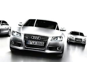 Audi has pulled of BMW in the luxury car stakes