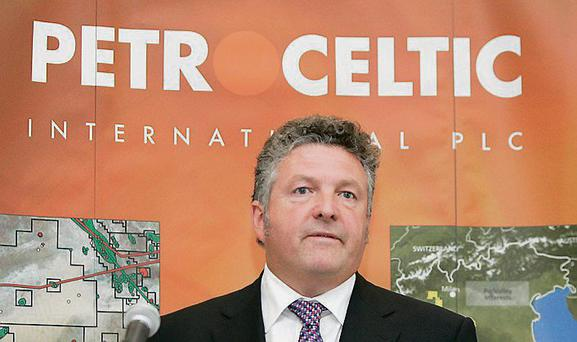 Petroceltic chief executive Brian O'Cathain
