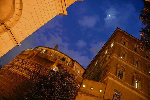 Deadquarters of the Institute for Religious Works (IOR) the Vatican's bank