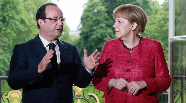 France's President Francois Hollande met German Chancellor Angela Merkel last week for talks dominated by the state of the European economy