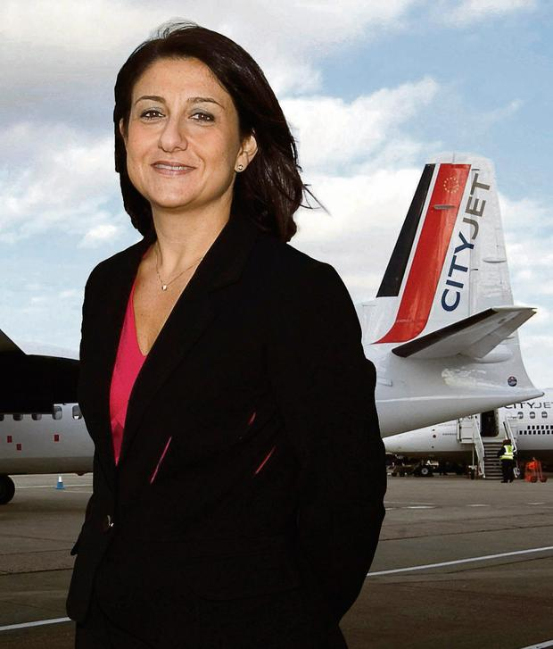 Christine Ourmieres, is chief executive of Cityjet